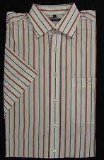 Eterna gestreifte Herren-Freizeithemden mit Kentkragen