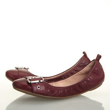 Marc Jacobs Dolly Buckle Bordeaux Ballerina Ballet Flat - Size 8.5 US (38.5 EU)