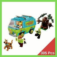 SCOOBY DOO The mystery machine 305 Pcs Legoingly 75902 Blocks Toys For Children