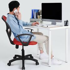 Ergonomic Adjustable Office Chair Computer Desk Task Swivel Chairs Mid-back Home