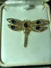Imperial Collection Firefly by Tatiana Faberge Brooch/ Pin