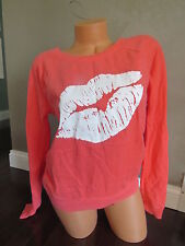 New!!! Victoria's Secret Pullover PINK Sweatshirt SIZE:X-SMALL