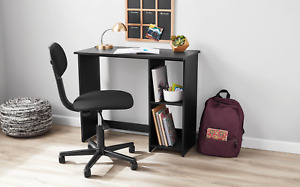 MAINSTAYS SMALL SPACE WRITING DESK WITH 2 SHELVES