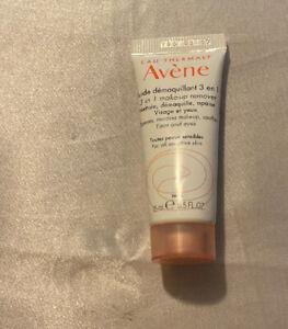 Avene Fluide Demaquillant 3 In 1 Make Up Remover 0.5 FL OZ / 15 ML Travel Size