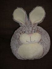 """JELLYCAT FURBALL BUNNY RABBIT SOFT PLUSH TOY APPROX 12"""" INCLUDING EARS"""