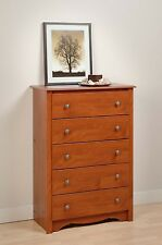 Sonoma Furniture 5 Drawer Dresser Chest - Cherry - NEW