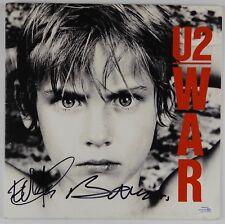 U2 Bono Edge War Signed Autograph Record Vinyl Album ACOA RACC
