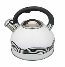 Changing Colour Whistling Kettle 3l Stainless Steel Hob Stove Induction Coloured