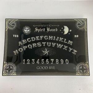 TKMAXX Homesense Mystic Spirit Board Glass Tray Large Halloween Gothic Decor New