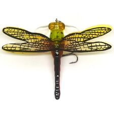 Fishing Bait Lure Life-like Dragonfly Floating Fly Fishing Flies Popper Red