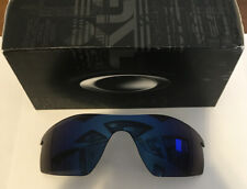 100% AUTHENTIC OAKLEY RADARLOCK PITCH ICE IRIDIUM LENS 43-549 - NEW IN BOX