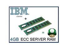 4 GB (2x2 GB) Memory Ram Upgrade Per IBM eServer XSERIES 226, 236, 336 & 346 1rx4