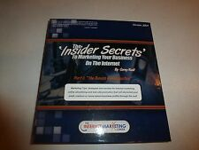 The INSIDER SECRETS TO MARKETING YOUR BUSINESS ON THE INTERNET,Corey Rudl bks1&2