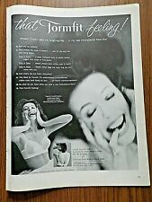 1960 Formfit Bra Ad Sets Me Laughing-free in my Embroidered Rave Bra