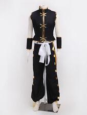 Shaman King Tao Ren Shaman Fighting Uniform Cosplay Costume Custom Made