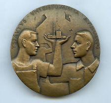 Finland Art Medal RH 1978 Friendship Cooperation Assistance 70mm 365 gr
