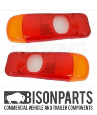 *MITSUBISHI FUSO CANTER REAR LAMP LENS FITS RH OR LH MIT006 X 2