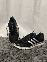 Mens adidas Clima Cool Aerate 3 Black/Silver/White Running Shoes Sneakers Sz 10