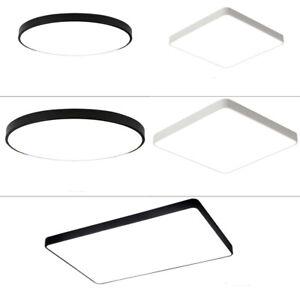 36W - 72W Dimmbar LED Deckenleuchte Deckenlampe Modern Panel Wohnzimmer Leuchte