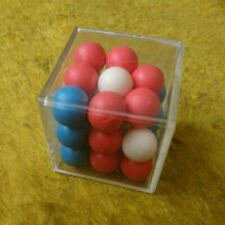 Old stock Rare Rubik Minus Balls 3x3 from Soviet Union Puzzle USSR
