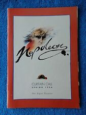 Napoleon - Elgin Theatre Playbill - Spring 1994 - Jerome Pradon - Aline Mowat