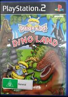 PS2 / Sony Playstation 2 game - Clever Kids: Dino Land boxed