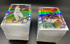 2021 Topps Chrome REFRACTOR YOU PICK FROM LIST COMPLETE YOUR SET
