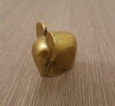 figurine éléphant stylisé en laiton