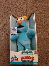NEW-RETRO FISHER PRICE SESAME STREET PAL OF THE MONTH COLLECTIBLE-NOVEMBER 2000