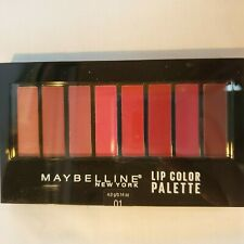 Maybelline New York Color Contour Lip Palette 01 (8) shades Lipstick New Sealed
