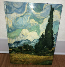 Museum Notes Wheat Field With Cypresses Vincent Van Gogh Lined Blank Book 160 Re