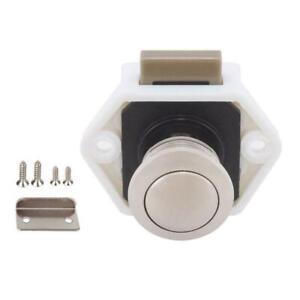 Diameter 20mm Camper Car Push Lock RV Caravan Boat Drawer Latch Button Lock