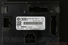 Audi A5 8F Cabrio Bordnetz Steuergerät Bordnetzsteuergerät  8K0907063H  BCM 1