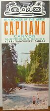1960's Capilano Canyon Suspension Bridge Vancouver British Columbia brochure b