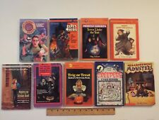 9-lot-halloween pbs-Trig or Treat-Cold Kisser-Monsters-Miss Dracula-Witches-kids