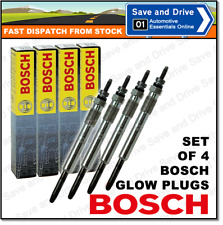 Set Of 4 0250202020 Bosch Duraterm Sheathed Element Glow Plugs