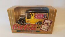 ERTL Coca Cola Die-Cast Metal Bank 1993 Yellow Delivery Truck