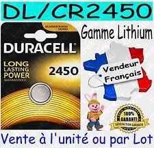 Piles DURACELL TYPE A27 MN27 - Dispo aussi : CR2016 CR2025 CR2032 CR2430 CR2450