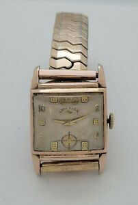 Vintage Lord Elgin 680 Movement Fisher Body/ GM Watch~ Running !!! (DG)