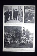 Trecentenario di Rembrandt , Amsterdam + Esecuzioni a Denchawai Stampa del 1906