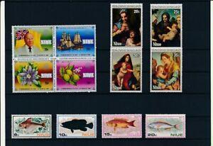 D193759 Niue Nice selection of MNH stamps