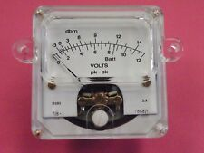 High Quality Sifam Panel Meter 1mA fsd Scaled 0-1 Milliamperes  57mm British 622