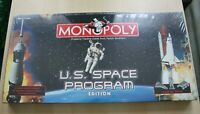 US Space Program Monopoly Board Game Very Rare