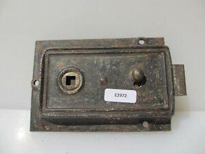 Antique Art Deco Bathroom Door Lock Bakelite Knobs Handles Vintage Old Bolt