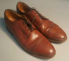 Allen Edmonds Mens kenton cap Toe Walnut Medium Size 9 D