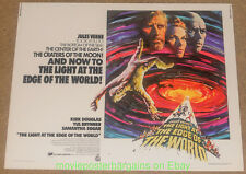 LIGHT AT THE EDGE OF THE WORLD MOVIE POSTER 22x28 Inch Half Sheet KIRK DOUGLAS