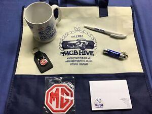 MGB Hive Branded Christmas Gift Idea Present Classic Car Selection Kit mug badge