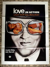 LOVE IN ACTION / EXPOSE ME LOVELY * A1-Filmposter - German 1-Sheet 1978 EROTIK
