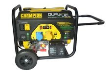 Champion 7000w dual fuel petrol generator electric start 220v EU version