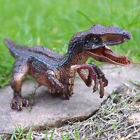 Jurassic Velociraptor Raptor Dinosaur Toy Educational Model Kids Birthday Gift
